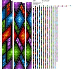 Bead Crochet Patterns, Bead Crochet Rope, Loom Patterns, Beading Patterns, Seed Bead Flowers, Beaded Flowers, Beaded Jewelry, Beaded Bracelets, Brick Stitch
