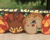 Bunny Decorative Painting Pattern Packet by OilCreekOriginals