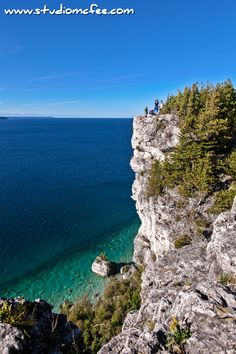 'Atop the Cliff' - at Lion's Head | the Bruce Peninsula National Park Ontario Canada