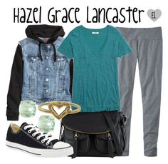 """Hazel Grace Lancaster -- The Fault in Our Stars"" by evil-laugh ❤ liked on Polyvore featuring H&M, Madewell, ALDO, Converse, Kate Spade, Love Nail Tree, thefaultinourstars, tfios, HazelGrace and hazelgracelancaster"