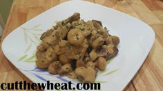 Cut the Wheat, Ditch the Sugar: Creamiest Beef Stroganoff: Low Carb, Gluten Free