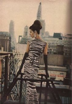 Todays hair & make up inspiration from September 1962 Vogue  Photograph William Klein