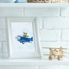 This amazingly cute Flying Teddy portrait fits kids room or any other room :) Looks best when framed. All Illustrations were made by us, LadiesMinimal from scratch, without using any premade elements. Nursery Prints, Nursery Decor, Cute Bears, Exercise For Kids, Art For Kids, Baby Gifts, Kids Room, Illustrations, Portrait