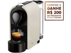 [MagazineLuiz] Cafeteira Expresso 19 Bar Nespresso U - Pure Cream 299,90 + 200 em capsula