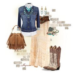 """""""Bohemian Cowgirl"""" by ladyjaynne on Polyvore"""