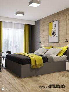 sypialnia w stylu skandynawskim - zdjęcie od MIKOŁAJSKAstudio - Sypialnia - Styl Nowoczesny - MIKOŁAJSKAstudio
