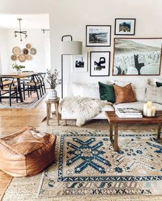 – A mix of mid-century modern, bohemian, and industrial interior style. Home and… – A mix of mid-century modern, bohemian, and industrial interior style. Home and… Boho Living Room, Living Room Grey, Living Room Interior, Cozy Living, Small Living, Eclectic Living Room, Living Room Lamps, Interior Livingroom, Earthy Living Room