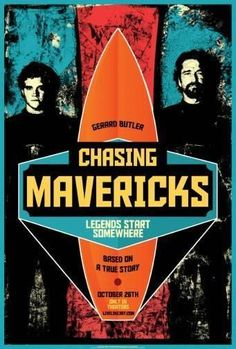Chasing Mavericks Poster Standup 4inx6in