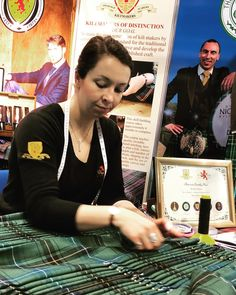 We are at the SECC Glasgow The Scottish Wedding Show Helen has been sewing a kilt showcasing the Traditional Heritage Skills taught at… Secc Glasgow, Wedding Show, Edinburgh, Traditional, Teaching, Sewing, Handmade, Instagram, Couture