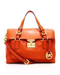 Gosford Large Satchel by MICHAEL Michael Kors at Neiman Marcus.    My new bag! Eek!