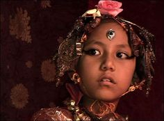 Nepal child Goddess, Nepal, Nepal travel, nepal photo