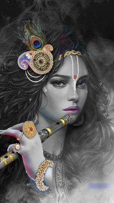 Radha Krishna Songs, Krishna Flute, Krishna Statue, Lord Krishna Images, Radha Krishna Pictures, Radha Krishna Photo, Krishna Quotes, Krishna Art, Shree Krishna Wallpapers