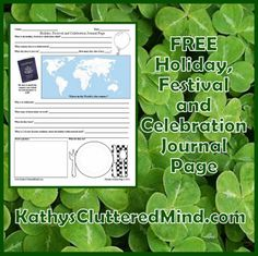 FreeBEE Friday Link Up - St. Patrick's Day Unit Study Resources