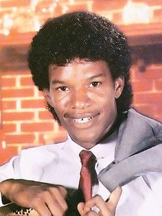 Back in 1986, when he was Eric Bishop, Foxx, 38, battled a serious Jheri curl dependency as a trumpet player at Terrell High in Terrell, Texas.