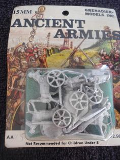 Ancient #AA15 15mm Hittite Chariot White Metal Military Figures #Ancient