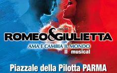 """""""Romeo e Giulietta- ama e cambia il mondo"""" arriva a Parma. #teatro #musical"""