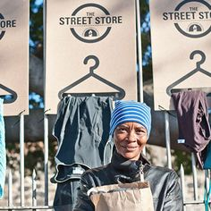 A pop-up clothing store for the homeless. A beautiful initiative. Read, watch and get involved.