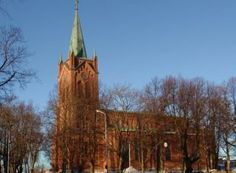 Uudenkaupungin Uusi kirkko - Uusikaupunki, Suomi   DiscoveringFinland.com