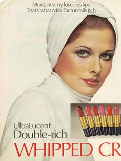 Cristina Ferrare for Max Factor