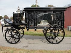 ANTIQUE HORSE DRAWN HEARSE (RESTORED) - Gilbert Jeeps and 4x4's for sale