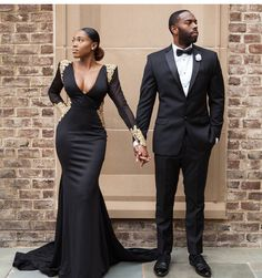 Stunning Prom Dresses 2018 Modest Formal Evening Party Pageant Gowns African Deep V-Neck Long Sleeve Yousef Aljasmi Dubai Arbic Cheap Engagement and Hochzeitskleid - Prom Dresses 2018, Pageant Gowns, Formal Dresses, Wedding Dresses, Formal Wear, Party Gowns, Bridesmaid Dresses, Special Dresses, Formal Prom