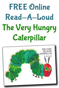 Grab a FREE Barnes & Noble Online Read-A-Loud for Kids ~ The Very Hungry Caterpillar! {cute} {select 'The Very Hungry Caterpillar' from the images below 'The Kissing Hand'} See Also: