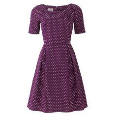 gaaf kleding gemma driehoek-print-jurk