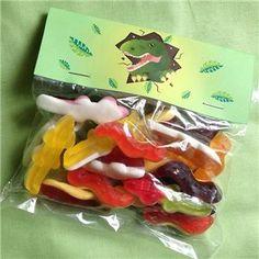 Dinosaur Sweet Bag, Dinosaur Party