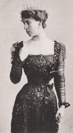 Tempus fugit....mors venit... // Grand Duchess Victoria Melita of Hesse. 1898.