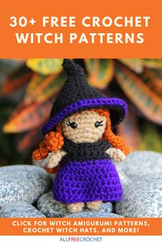 These free witchy crochet patterns are perfect for Halloween! 🎃🧹 Browse here and find your favorite. Halloween Crochet Patterns, Easy Crochet Patterns, Amigurumi Patterns, Crochet Costumes, All Free Crochet, Halloween Celebration, Crochet Crafts, Finding Yourself, Witch