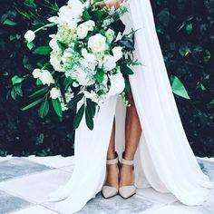 Beautiful bridal bouquet! #wedding #bride #flowers #bouquet