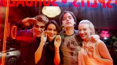 Archie, Veronica, Jughead, and Betty