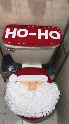 Christmas Pictures, Christmas Diy, Christmas Decorations, Bathroom Crafts, Fifa, Ideas Para, Pattern, Home Decor, Felt Christmas Trees