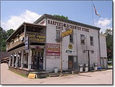 Harper's Old Country Store has been a Seneca Rocks landmark since 1902. The merchandise and provisions offered have changed over time, but the store itself is an authentic piece of WV history from its oiled wooden floor to its embossed tin ceiling.