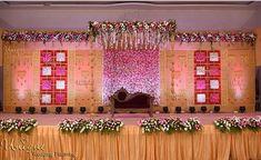 Bildergebnis für Hochzeitsdekoration in Kolkata - Hausdekorations Wedding Stage Decorations, Engagement Stage Decoration, Reception Stage Decor, Wedding Backdrop Design, Desi Wedding Decor, Wedding Stage Design, Wedding Reception Backdrop, Wedding Entrance, Entrance Decor