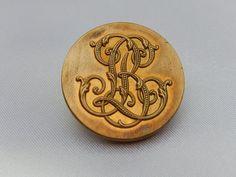 Ancien gros bouton de Paris