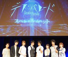 Death Parade event - seiyuu ☆ ☆ (July 2015) #Dp_anime #Hosoyan