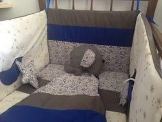 Tous de lit étoile et nuage baby boy - Foul'art  Création sur mesure  www.foul-art.com www.facebook.com/myfoulart