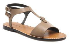 Chaussures TILA MARCH - Flat sandal t-bar @ Sarenza.com