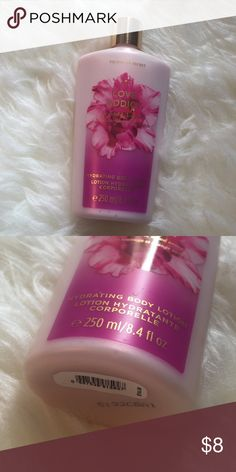VS Love Addict Lotion Brand new never used! Just an extra from me bachelorette party! Victoria's Secret Makeup