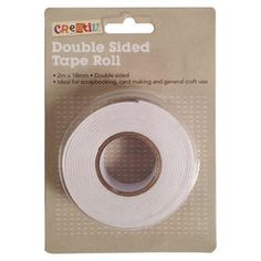 Perfect for scrapbooking, card and paper projects and other craft work, this double sided tape roll will be a smart addition to your stationery. Stationery Craft, General Crafts, Craft Work, Art For Kids, Tape, Rolls, Card Making, Scrapbook, Creative