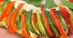 Zutaten für 2 Personen: 2 Zucchini 80 g Pesto 2-3 Tomaten 1 Mozzarella Olivenöl Salz & Pfeffer Zubereitung...