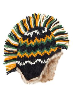 Gap Knit Mohawk Hat. i wanna photograph a boy wearing this. would be so rad!!!