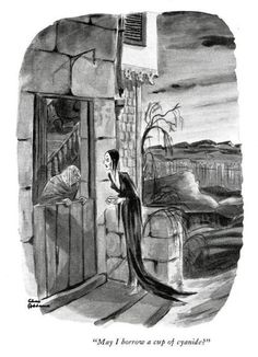 addams, Morticia Addams, and cartoon image