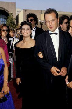 Pin for Later: Wart ihr schockiert von diesen Promi-Pärchen? Demi Moore und Bruce Willis, 1987