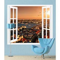 Harika pencere duvar kağıdı modelleri duvargiydir.com'da