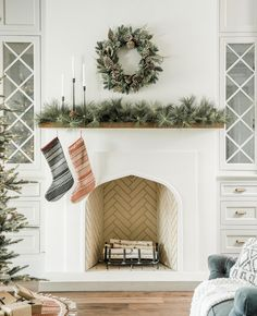 How to Decorate with Garland | Magnolia | Chip & Joanna Gaines | Waco, TX | Mantel | Magnolia Market |