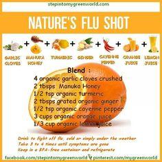 Home Remedy Flu drink