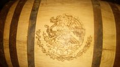 Mexican family crest barrel