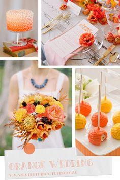 We love these orange ideas!